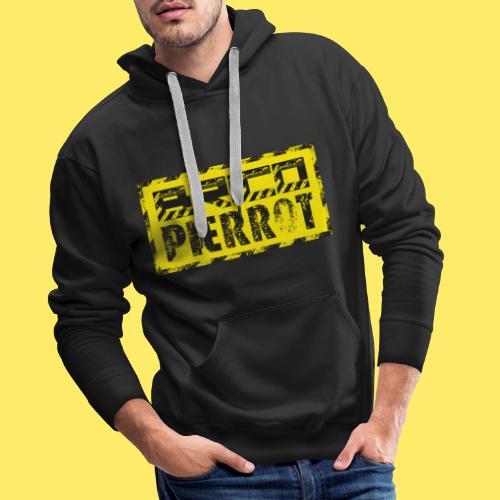 JauneBig - Sweat-shirt à capuche Premium pour hommes