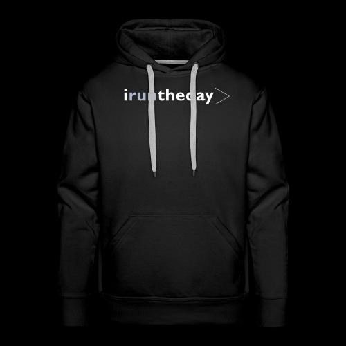 iruntheday clothing range - Men's Premium Hoodie