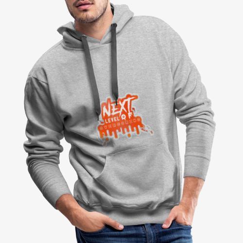 NEXT LEVEL OF OVERCOMING - Sudadera con capucha premium para hombre