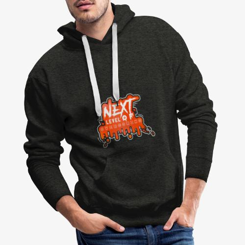 NEXT LEVEL OF OVERCOMING - Sudadera con capucha premium para hombre