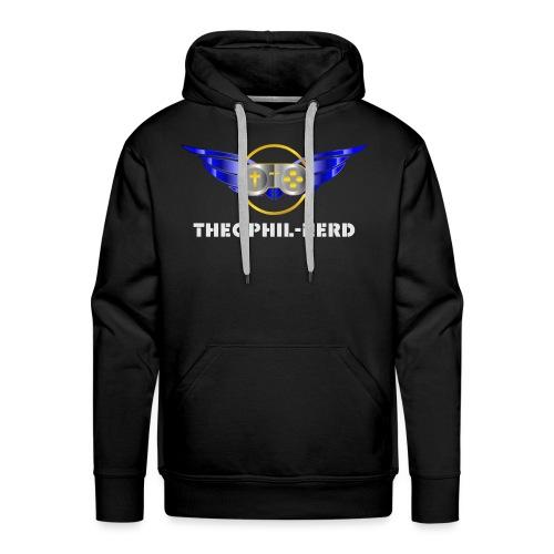 Theophil-Nerd - Das neue Logo für Nerds - Männer Premium Hoodie