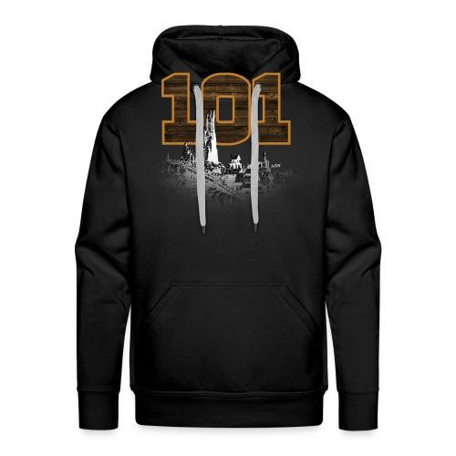 BTM 101 (montagne) - Sweat-shirt à capuche Premium pour hommes