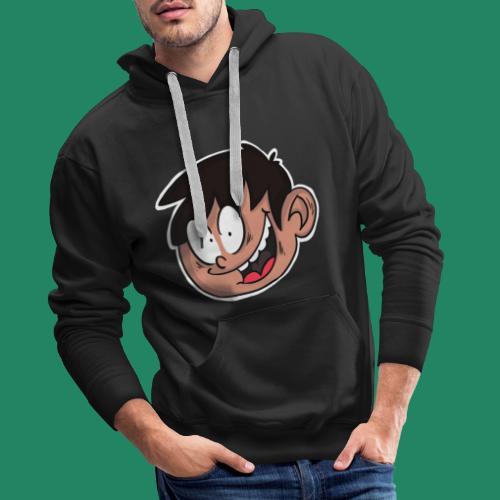 Comic Head - Sweat-shirt à capuche Premium pour hommes