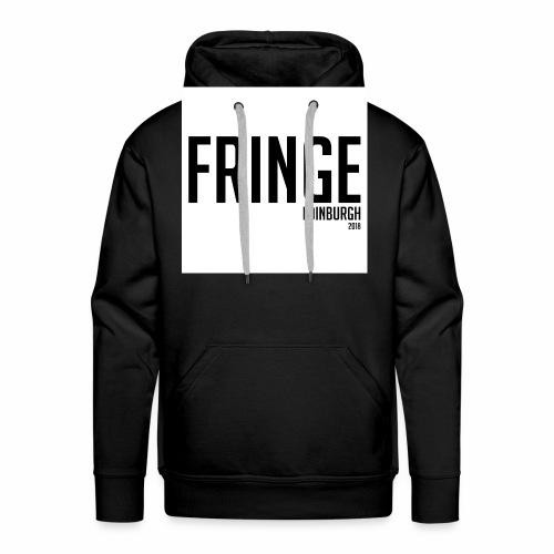 Fringe 2018 Black on White - Men's Premium Hoodie