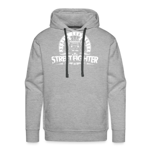 Street Fighter Band (White) - Männer Premium Hoodie