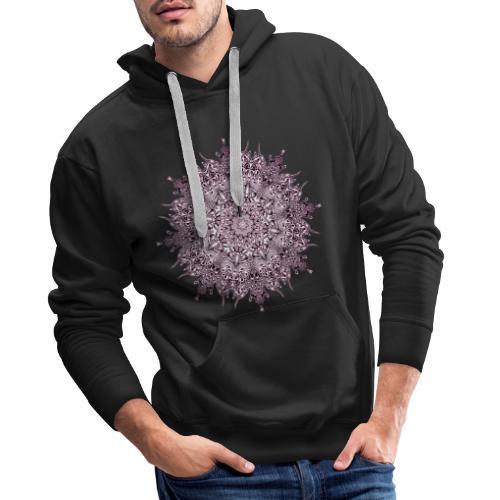 Purple Mandala - Männer Premium Hoodie
