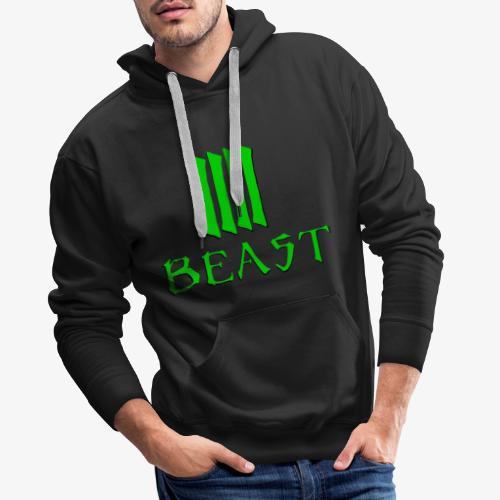 Beast Green - Men's Premium Hoodie
