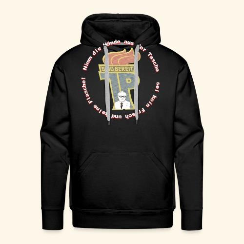 Pionier DDR Honecker Shirt Geschenk Idee - Männer Premium Hoodie