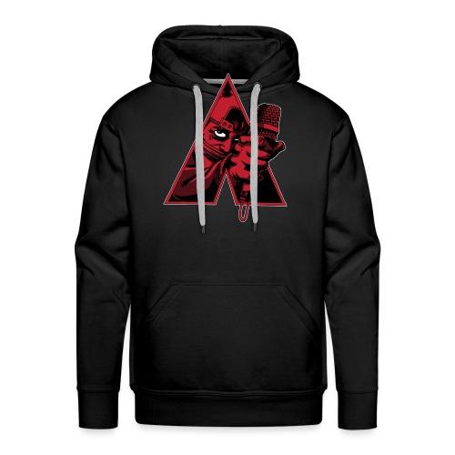CLOCKWORK RED - Sweat-shirt à capuche Premium pour hommes