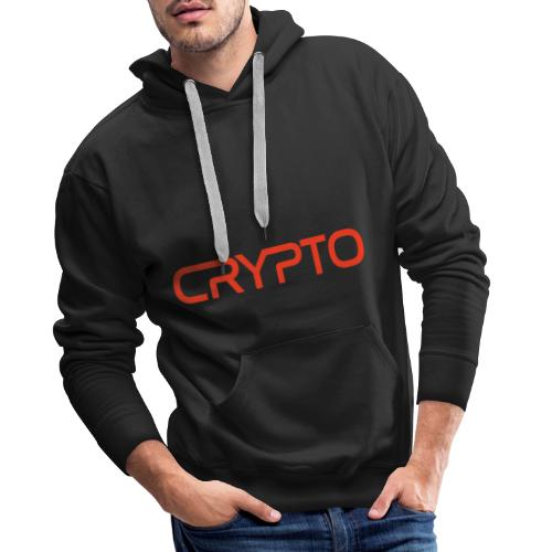 crypto nasa worm design - Men's Premium Hoodie