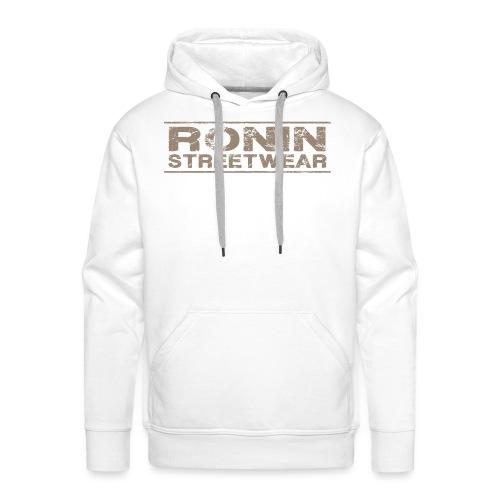 RONIN streetwear V03 - Sweat-shirt à capuche Premium pour hommes