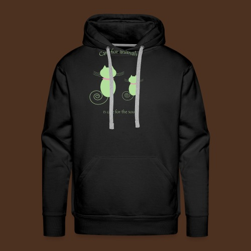 Animal care - Men's Premium Hoodie