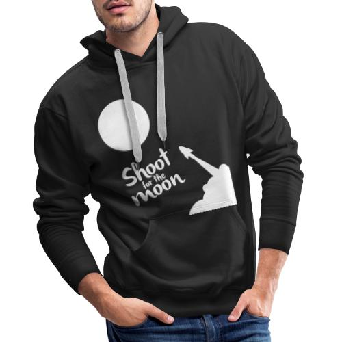Shoot for the Moon - Men's Premium Hoodie
