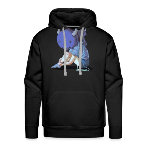 Dream Harvest: The Girl That Became A Monster - Men's Premium Hoodie