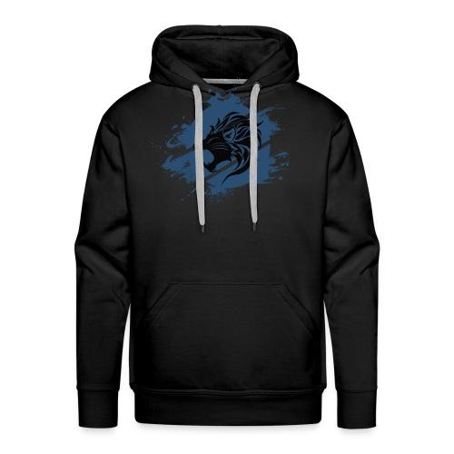 Lion shield - Sudadera con capucha premium para hombre