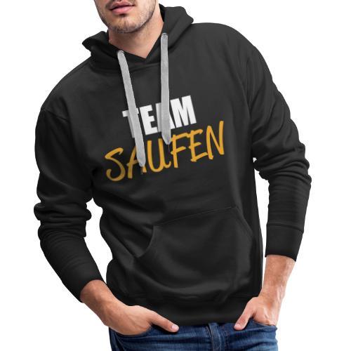 Team saufen Shirt - Männer Premium Hoodie