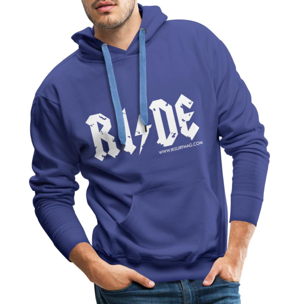 RIDE - Men's Premium Hoodie - royal blue