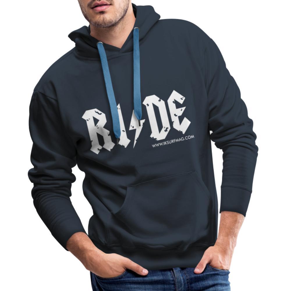 RIDE - Men's Premium Hoodie - navy