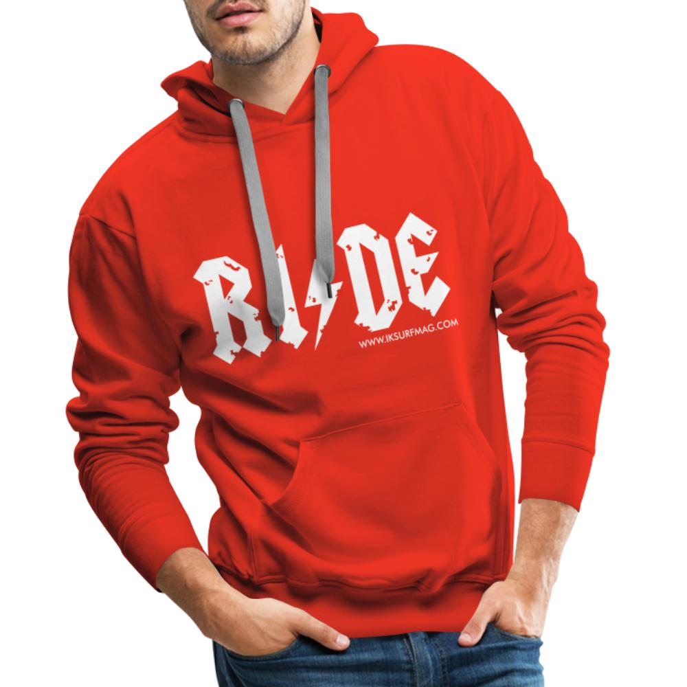 RIDE - Men's Premium Hoodie - red