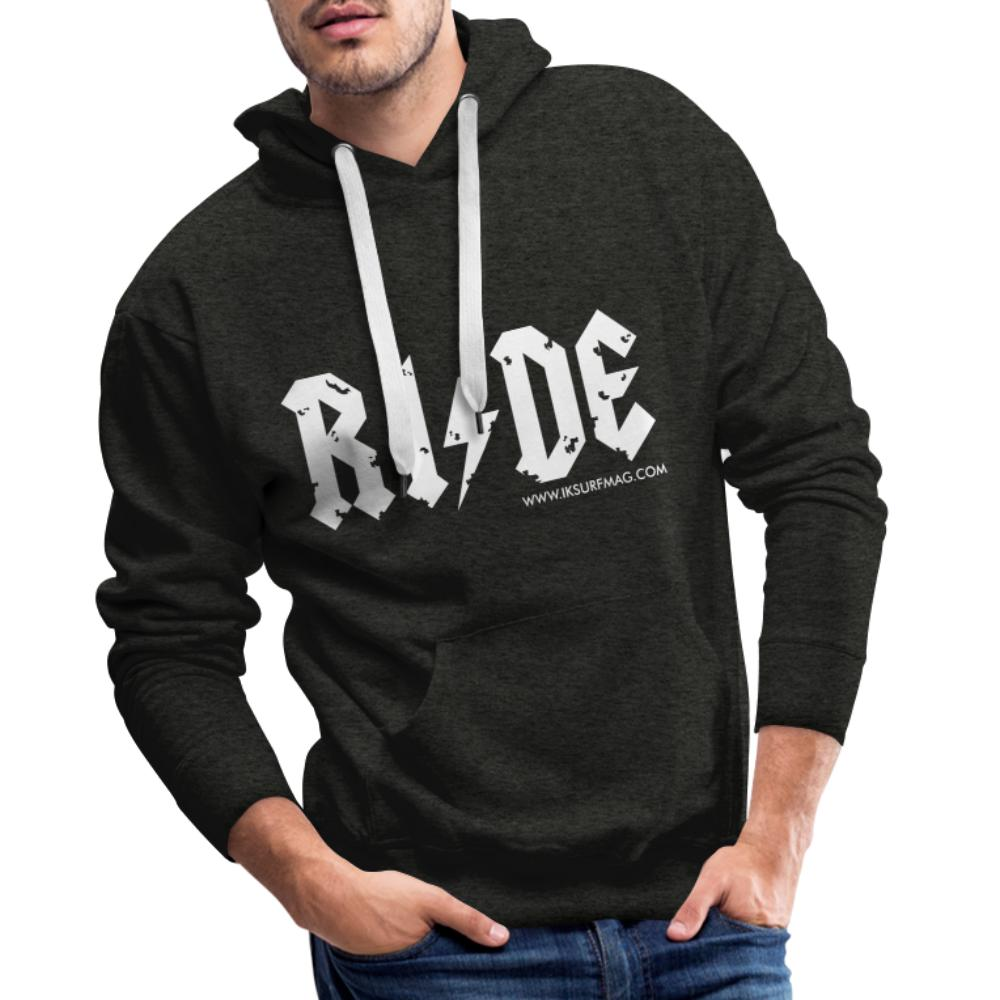 RIDE - Men's Premium Hoodie - charcoal grey