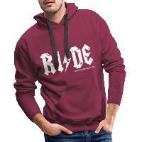 RIDE - Men's Premium Hoodie - bordeaux