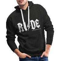 RIDE - Men's Premium Hoodie - charcoal grey
