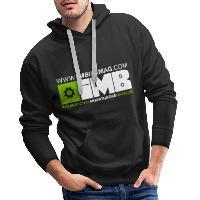 IMB Logo - Men's Premium Hoodie - black