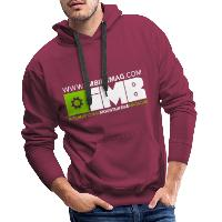 IMB Logo - Men's Premium Hoodie bordeaux