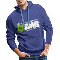 IMB Logo - Men's Premium Hoodie - royal blue