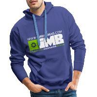 IMB Logo - Men's Premium Hoodie royal blue
