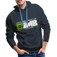 IMB Logo - Men's Premium Hoodie - navy