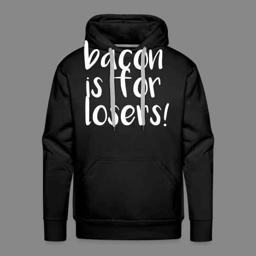 bacon - Männer Premium Hoodie