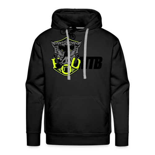 master boar full colour with mtbcom and - Men's Premium Hoodie