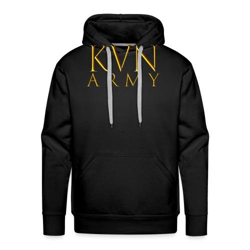 KVN ARMY LOGO GOLD - Männer Premium Hoodie
