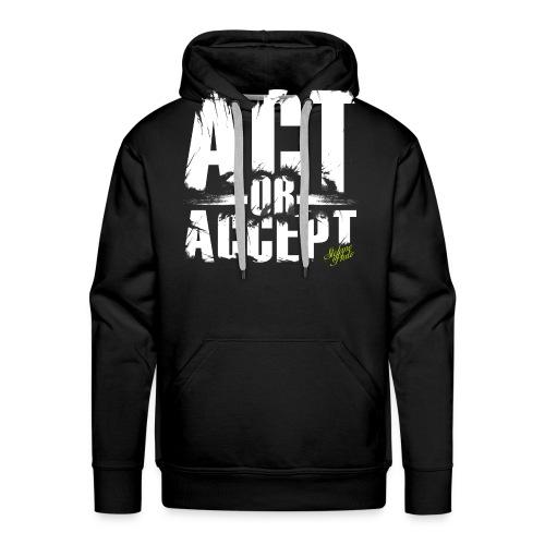 Stefano Pluto - ACT OR ACCEPT - Männer Premium Hoodie