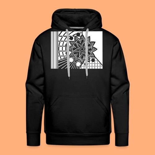 galaxie - Sweat-shirt à capuche Premium pour hommes