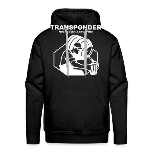 Transponder Music Beer Stomping - Männer Premium Hoodie