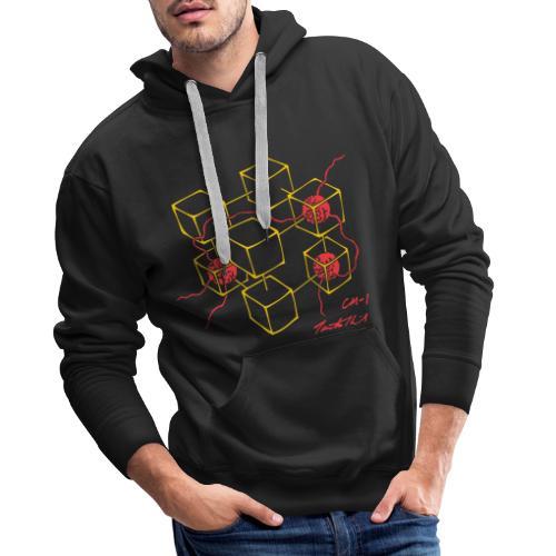 Connection Machine CM-1 Feynman t-shirt logo - Men's Premium Hoodie