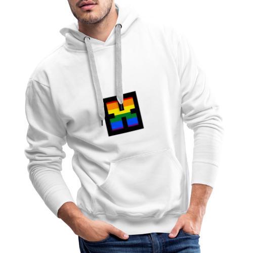 XRhodes Pride Logo 2019 - Men's Premium Hoodie