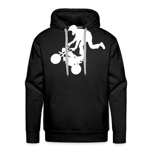 Monkey keulii - Miesten premium-huppari