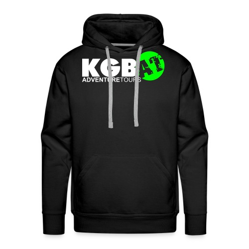 Logo KGB AT Spreadshirt 2 - Männer Premium Hoodie