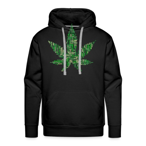 marijuana 2754247 1920 - Männer Premium Hoodie