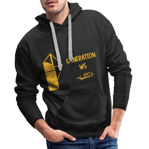 Generation WS - Männer Premium Hoodie