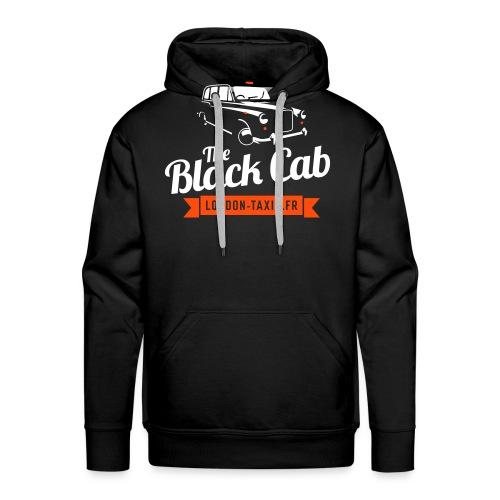 The Black Cab - Sweat-shirt à capuche Premium pour hommes