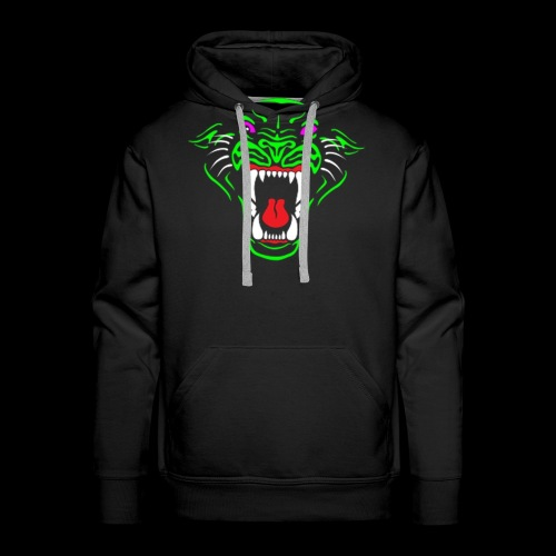 Panther logo tshiret png - Men's Premium Hoodie