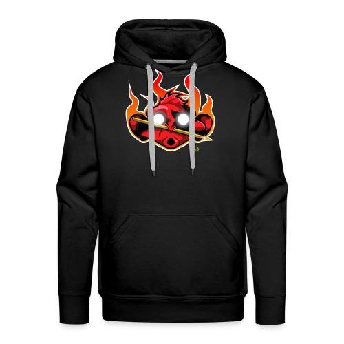 logo monkey - Sweat-shirt à capuche Premium pour hommes