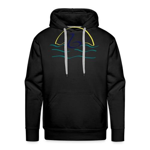 Swan - Mannen Premium hoodie