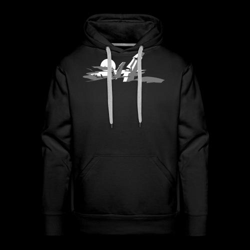 Tiki Shirt - Männer Premium Hoodie
