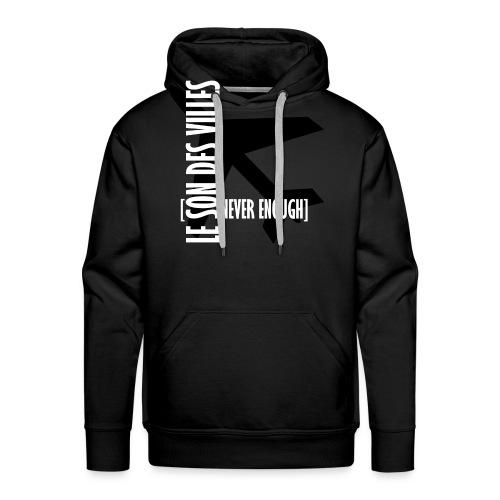 Le Son Des Villes Avion - Sweat-shirt à capuche Premium pour hommes