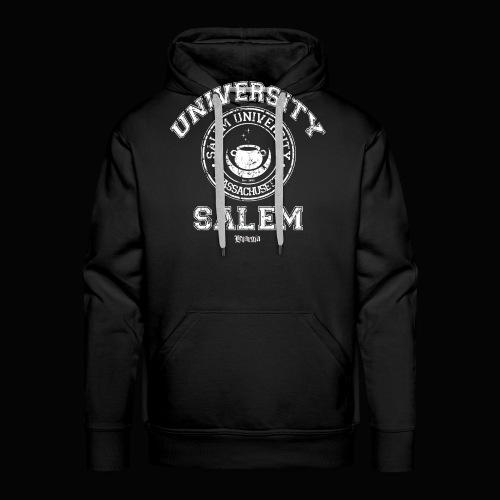 Salem University - Sudadera con capucha premium para hombre